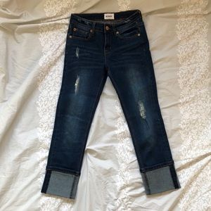 Hudson - Girls Cropped Jeans - Size 12